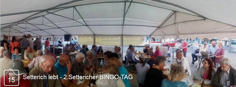 Setterich lebt - 2.Settericher BINGO-TAG